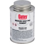 Medium Gray PVC Cement