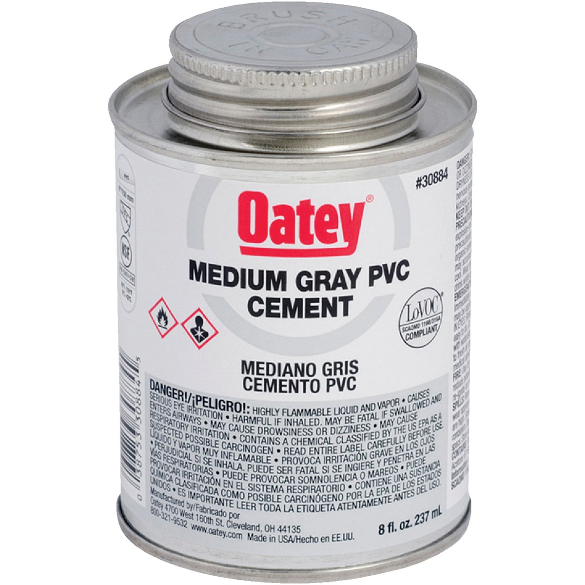 1/2PINT PVC CEMENT - 30884 by Oatey Scs