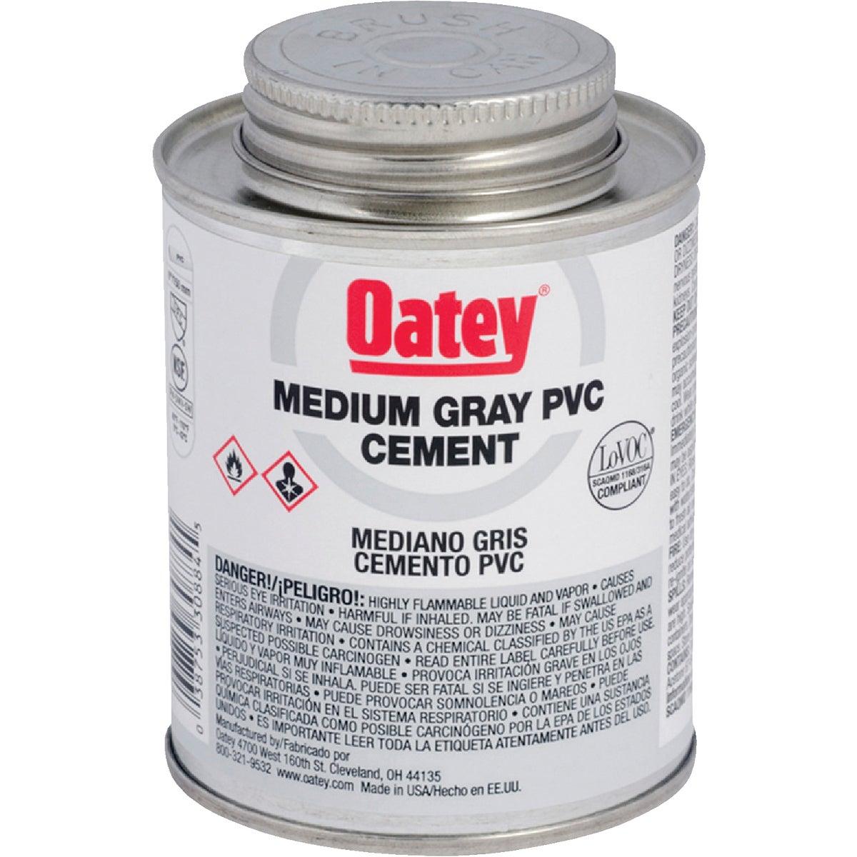 Oatey QT GRAY PVC CEMENT 30886