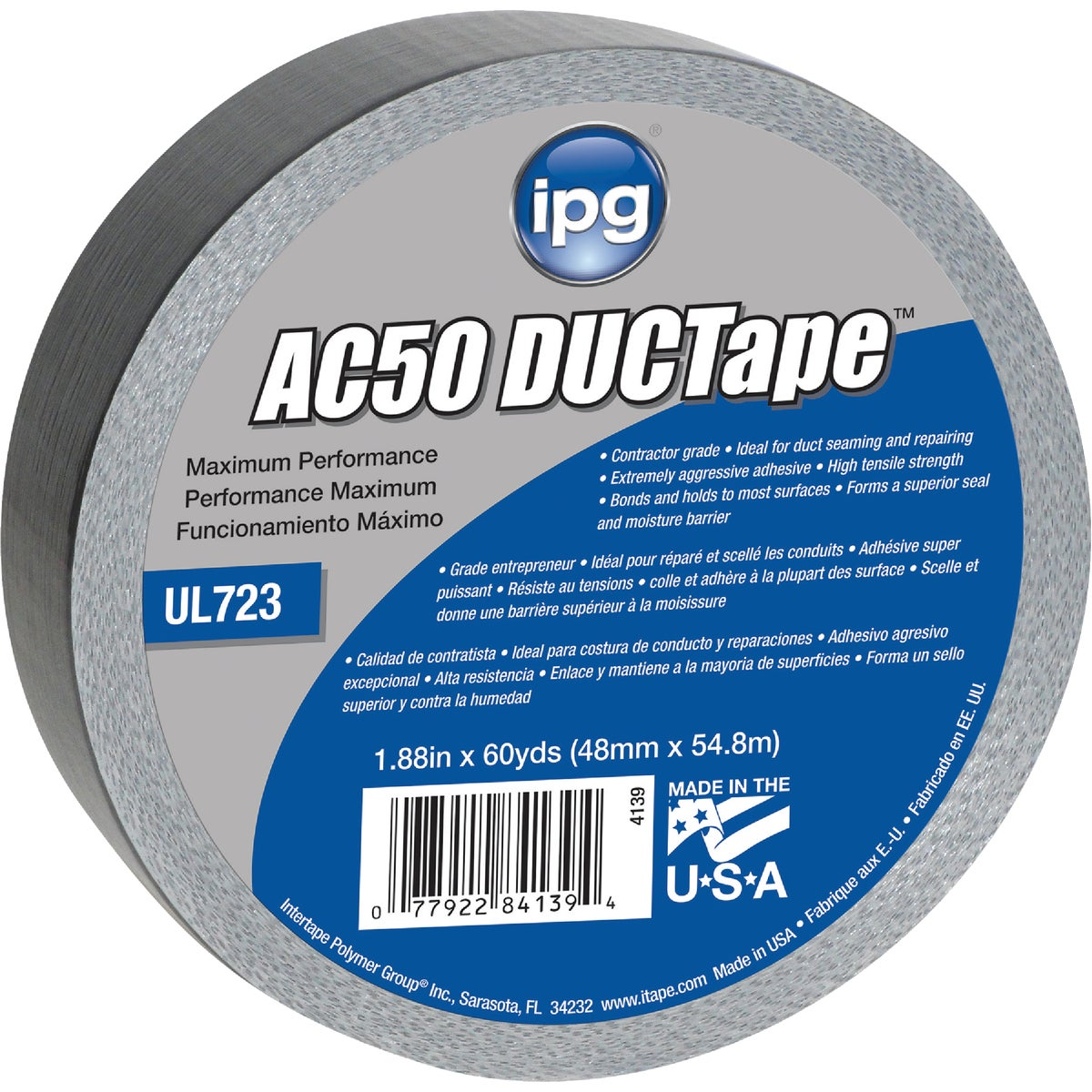 60YD ANRCHOR50 DUCT TAPE - 84139 by Intertape Polymer