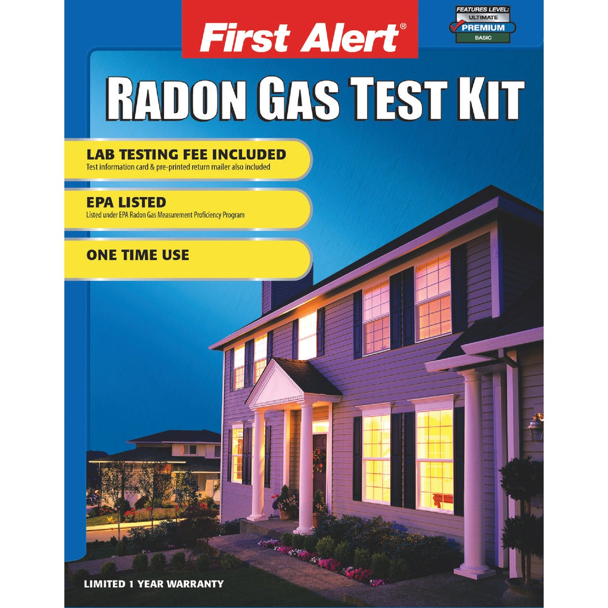 RADON TEST KIT - RD1 by First Alert  Jarden
