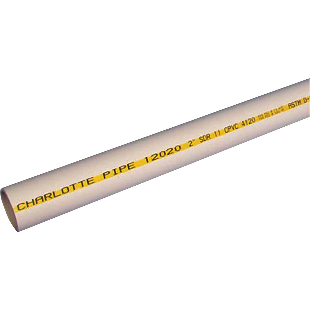 "1""X10' CPVC-FLOWG PIPE - CTS120100600 by Charlotte Pipe"