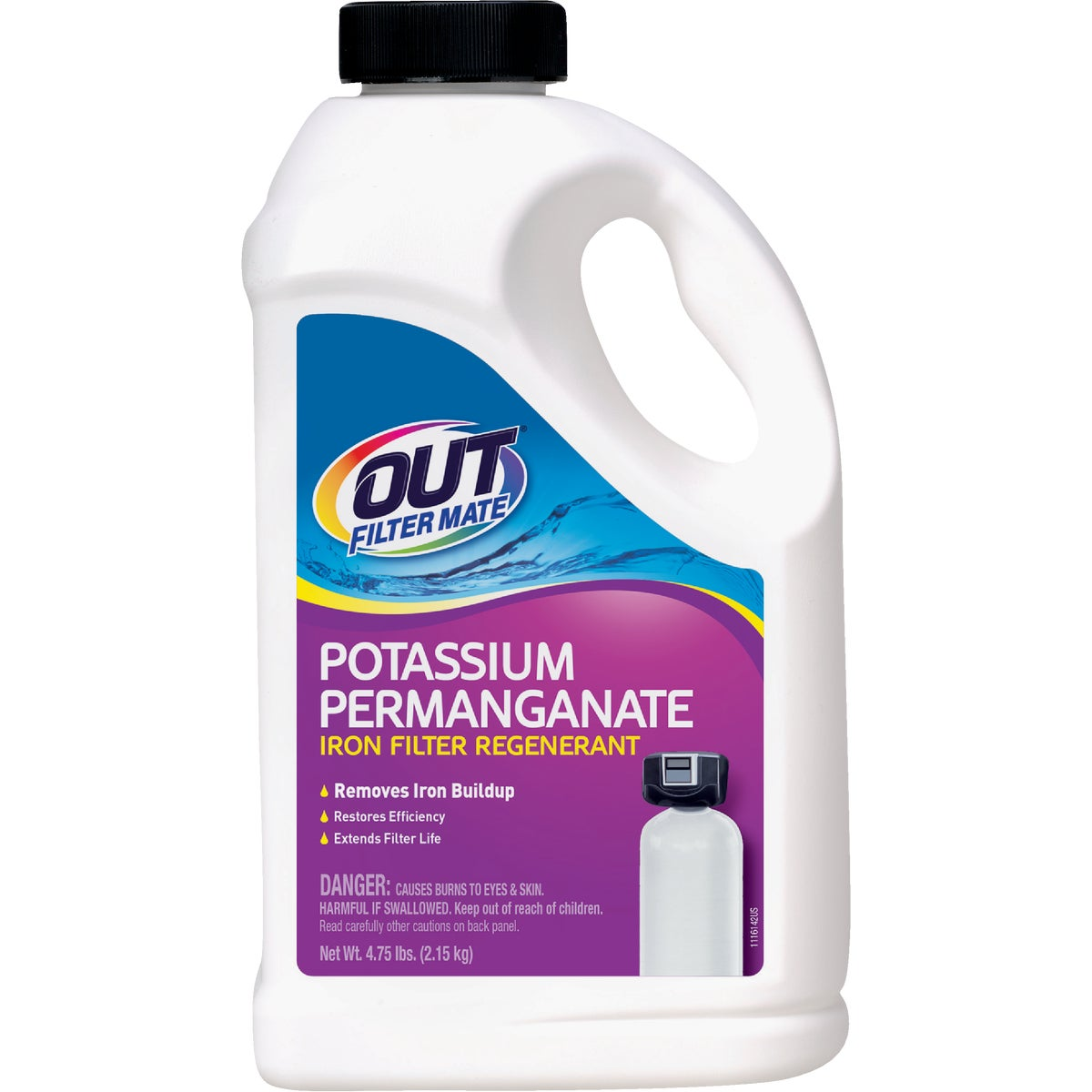 5LB POTASSIUM PERMGNANTE - PF65N by Summit Brands