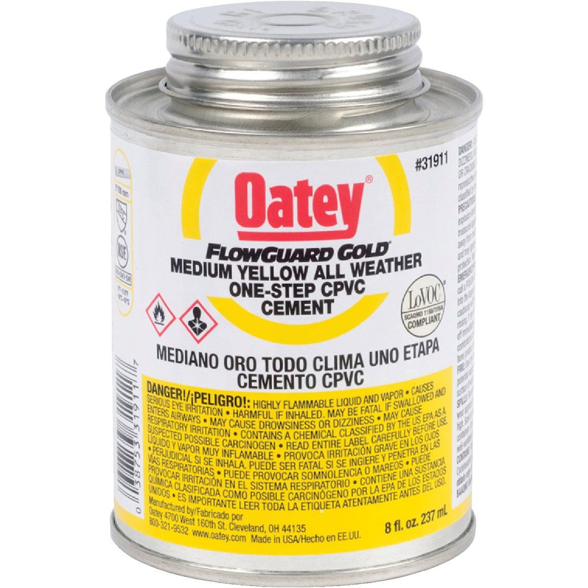 Oatey 1/2PINT F/G CPVC CEMENT 31911