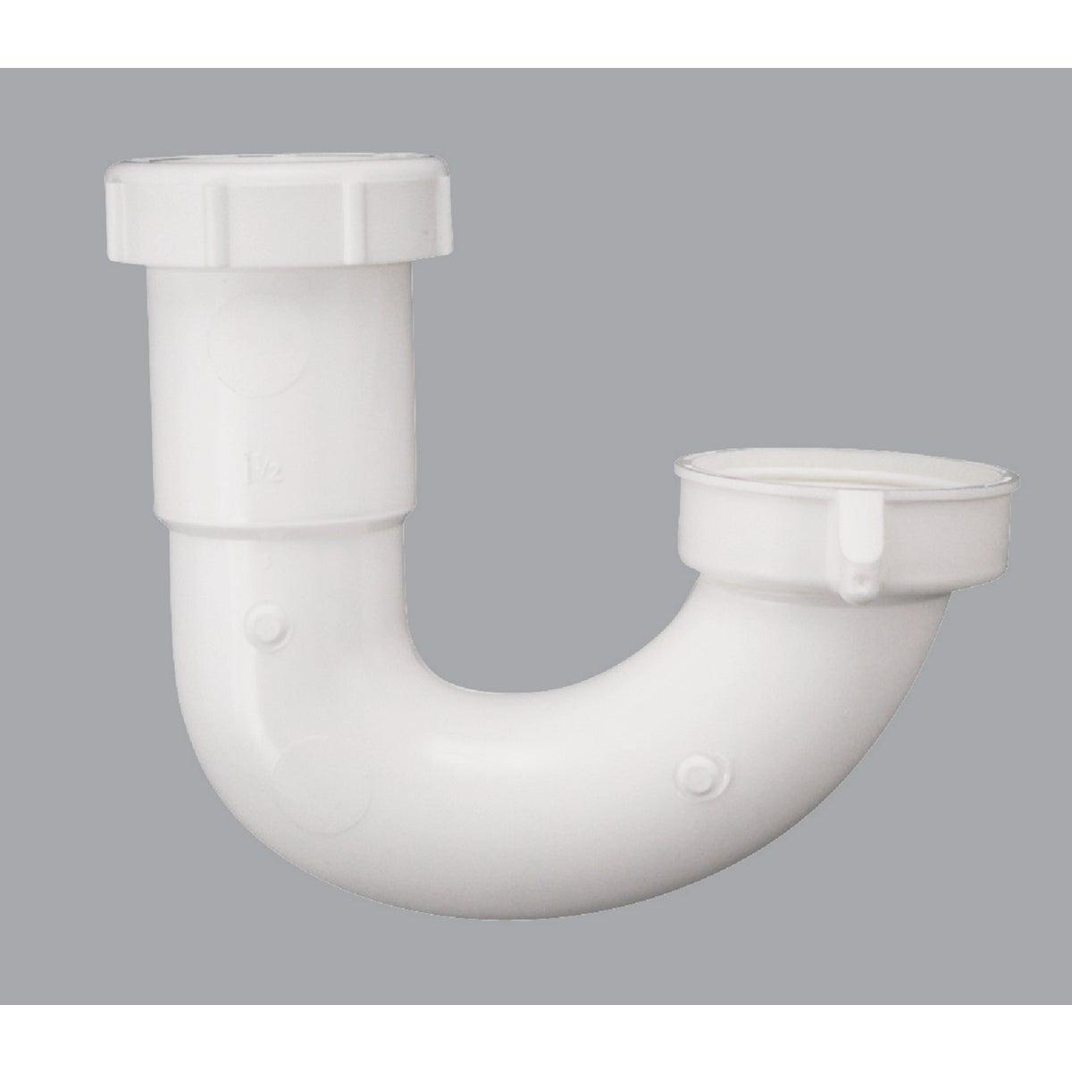 1-1/2 WHT PLASTIC J-BEND - 494909 by Plumb Pak/keeney Mfg