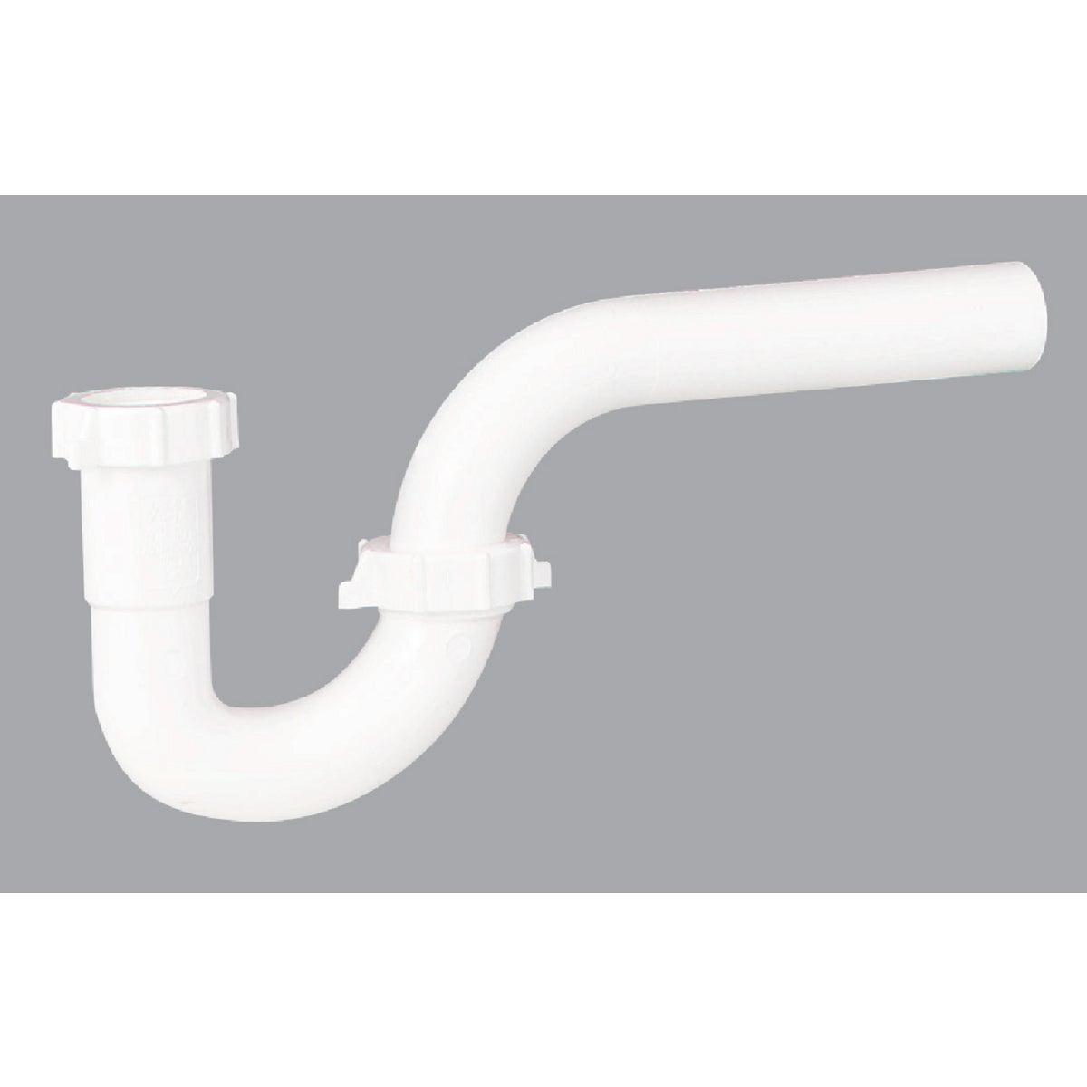 Plumb Pak/Keeney Mfg. 1-1/4 WHT PLASTIC P-TRAP 495026
