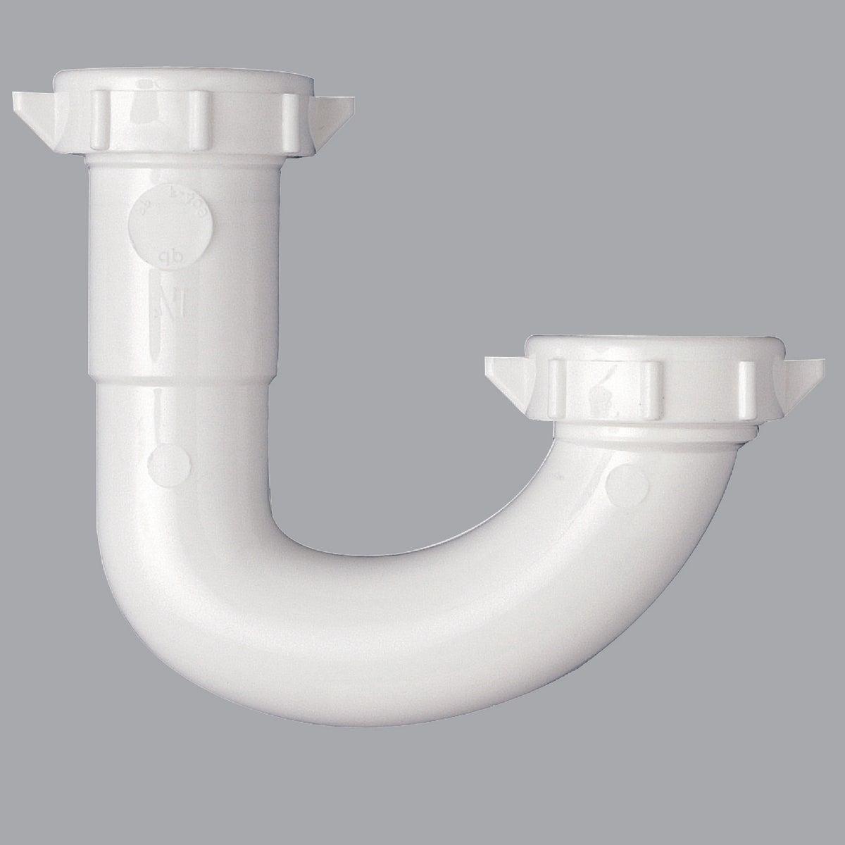 1-1/4 WHT PLASTIC J-BEND - 495093 by Plumb Pak/keeney Mfg