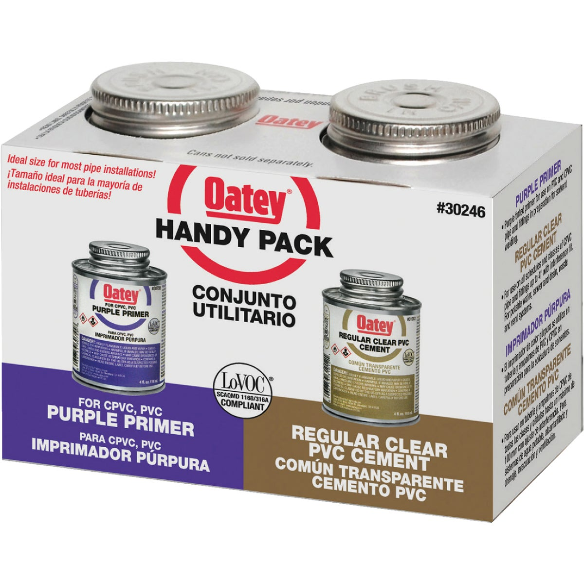 SOLVENT CEMENT KIT - 30246 by Oatey Scs