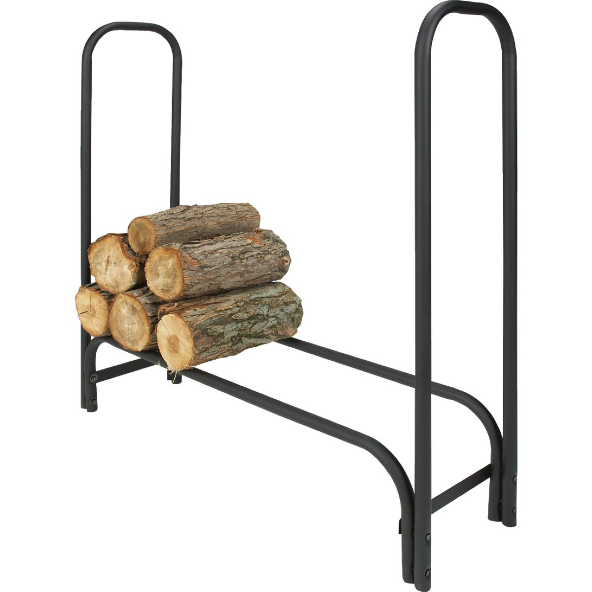 BLACK TUBE 8' LOG RACK
