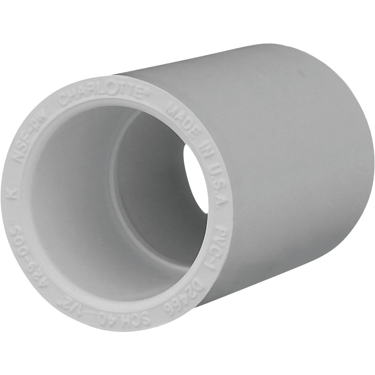 "10PK 1/2"" SCH40 PVC CPLG"