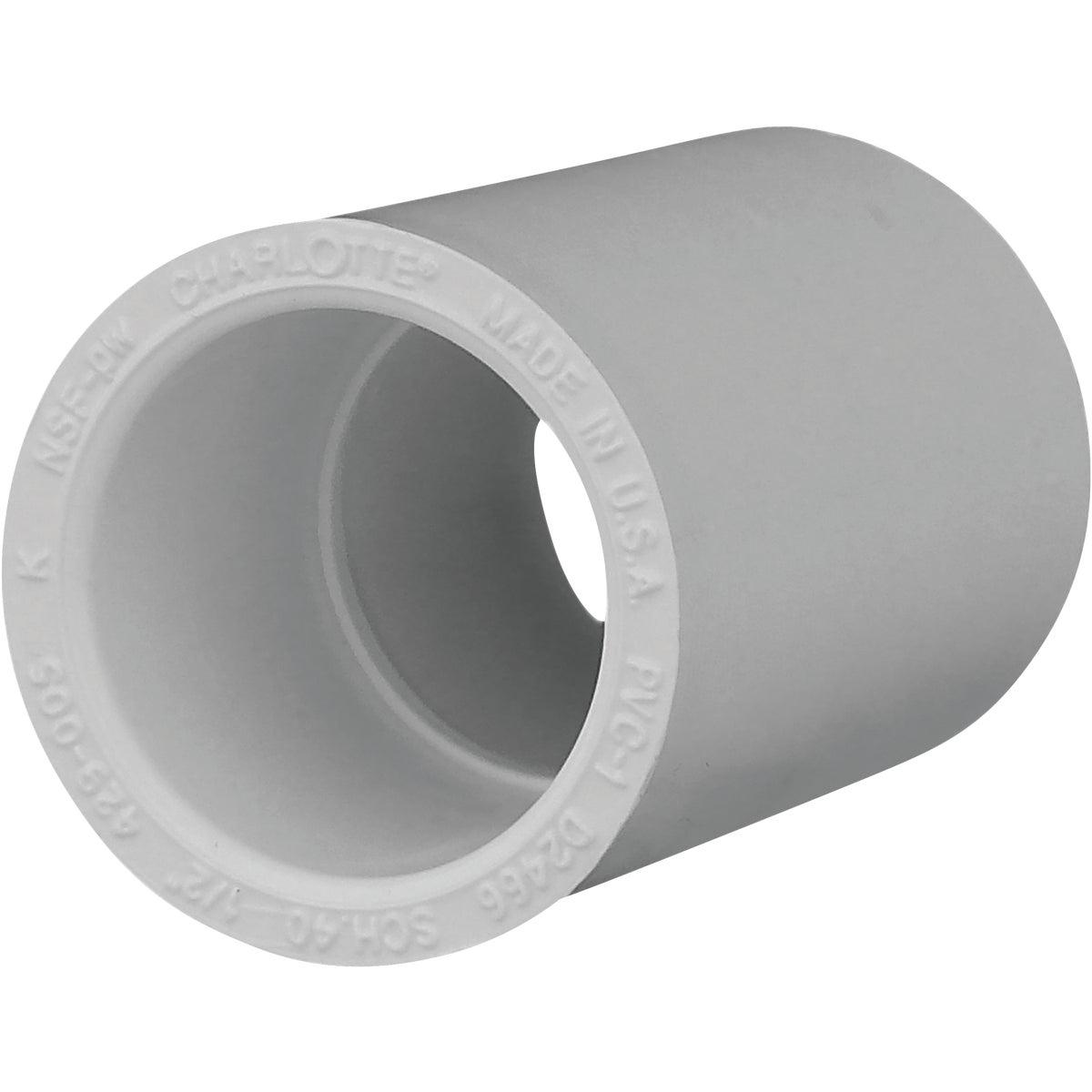 "10PK 1/2"" SCH40 PVC CPLG"