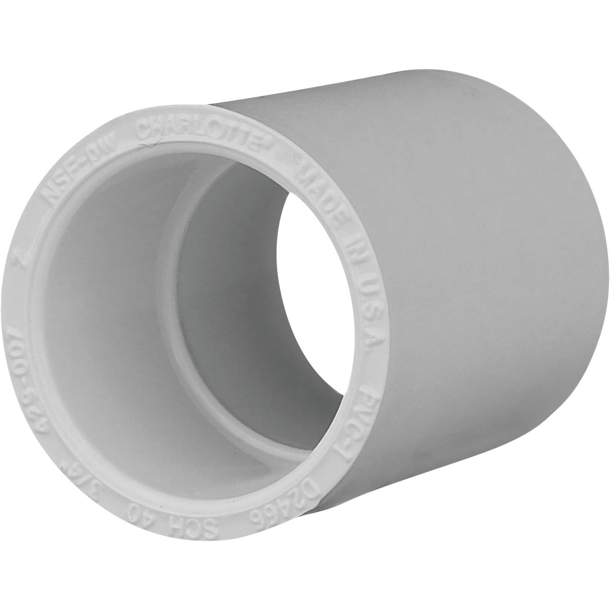 "10PK 3/4"" SCH40 PVC CPLG"