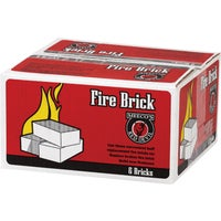 Meeco Mfg. Co., Inc. 6 PACK FIREBRICK FBP6