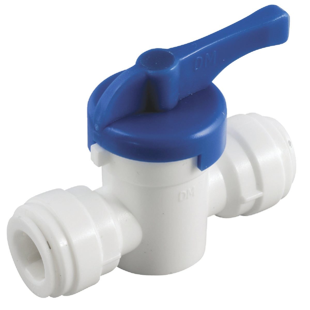 "3/8"" PUSH-IN BALL VALVE - 53906-06 by Anderson Metals Corp"