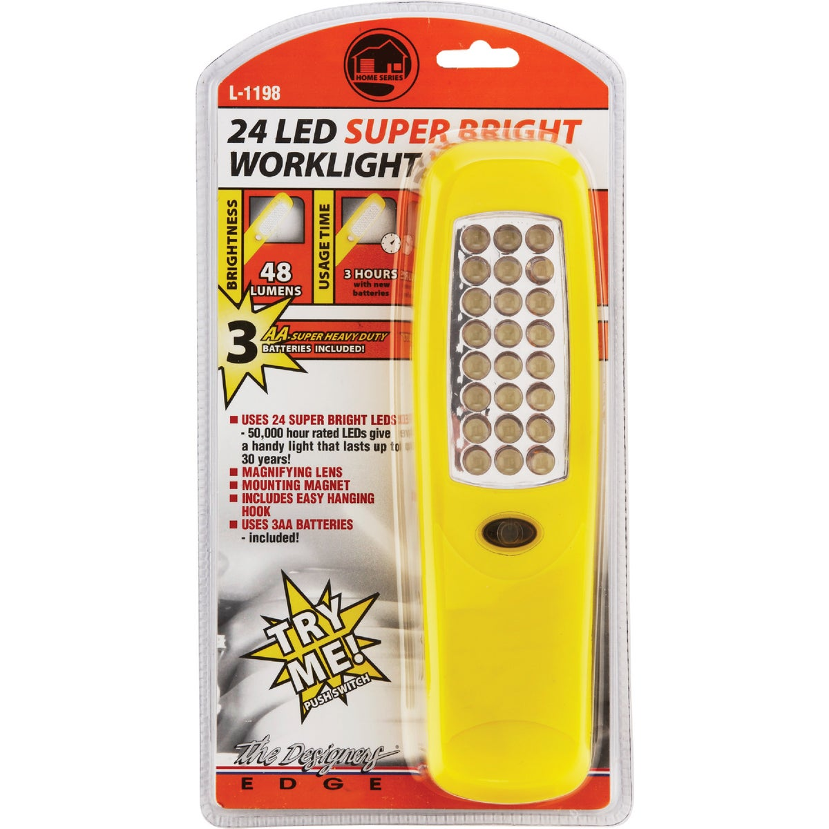 24 LED WORKLIGHT - L-1198 by Woods Wire Coleman