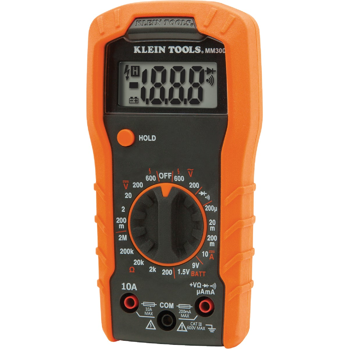 MANUAL RANGE MULTIMETER - MM100 by Klein Tools Inc
