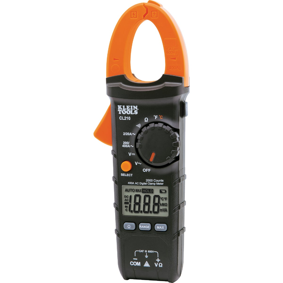 600A AC CLAMP METER - CL100 by Klein Tools Inc