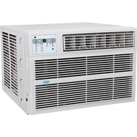 Perfect Aire 12,000 BTU Window Air Conditioner With Electric Heater, 3PACH12000