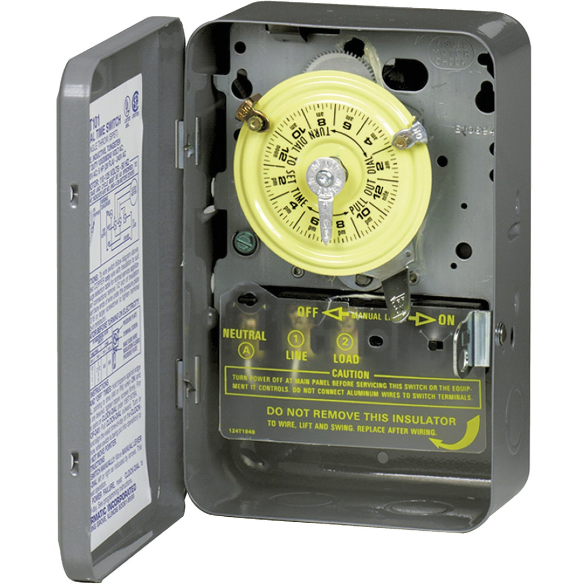 240V DPST TIME SWITCH - T104 by Intermatic Inc