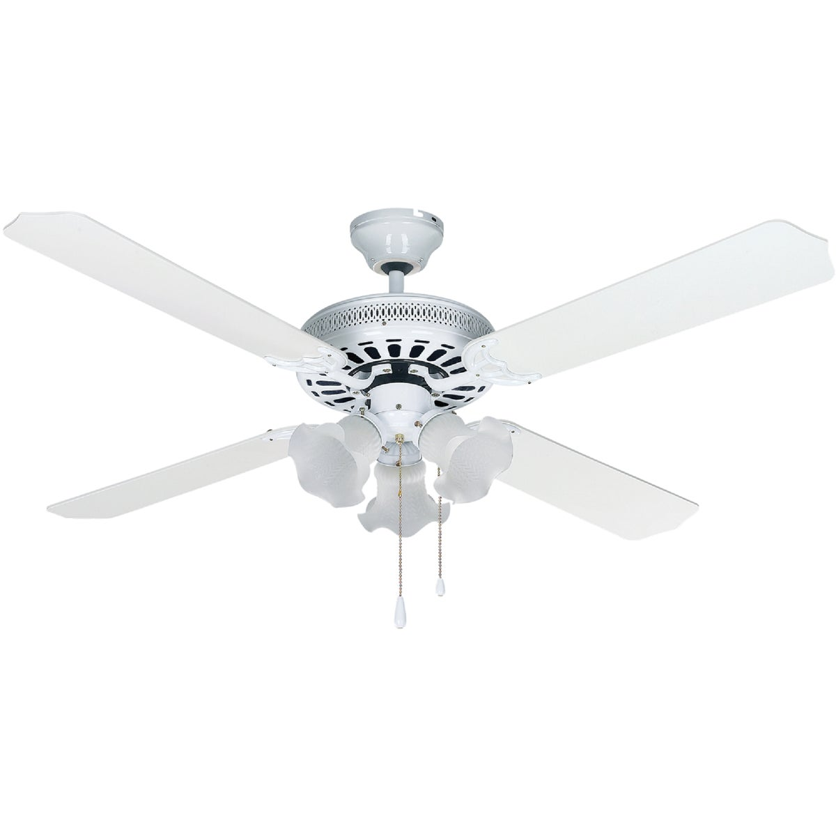 "52"" CHATEAU WHT CEIL FAN - CF52CHA4WH by Canarm Gs"