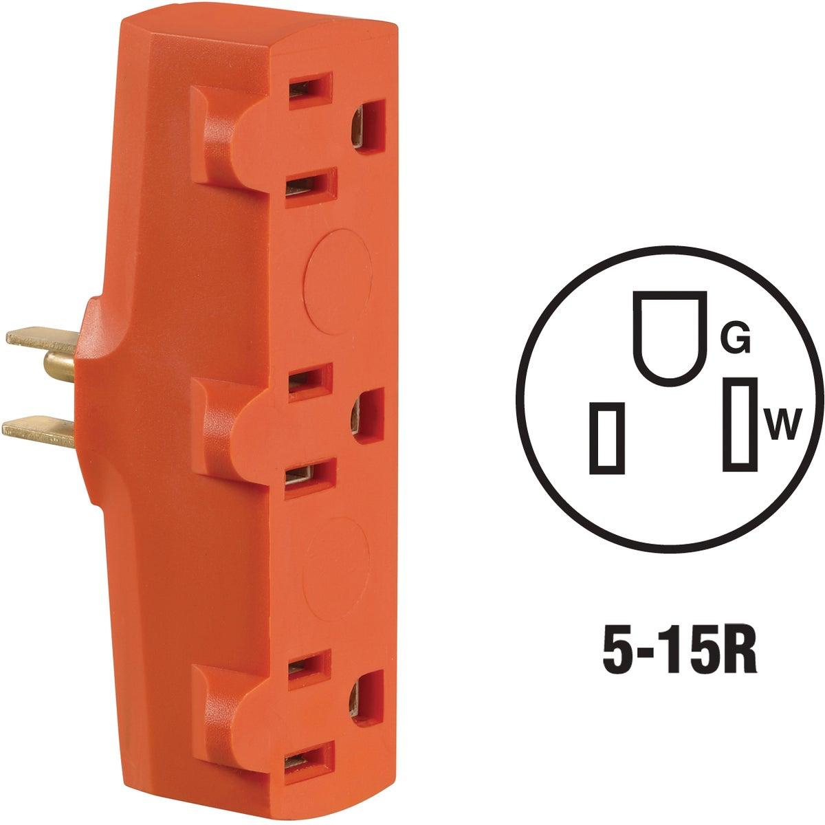 ORGN TRIPLE GRND TAP - DB0-699 by Leviton Mfg Co