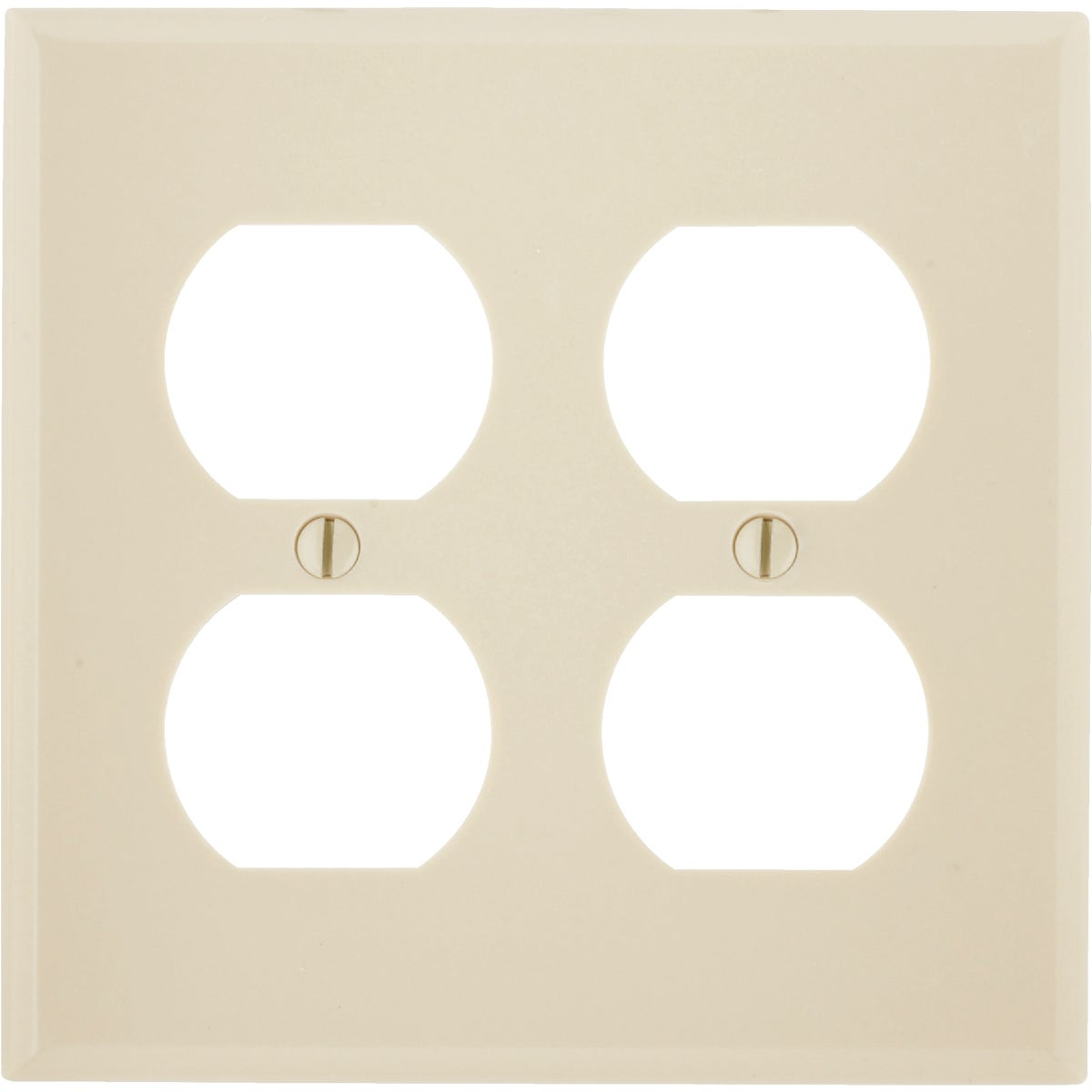 IV 4-OUTLET WALL PLATE - 86016 by Leviton Mfg Co