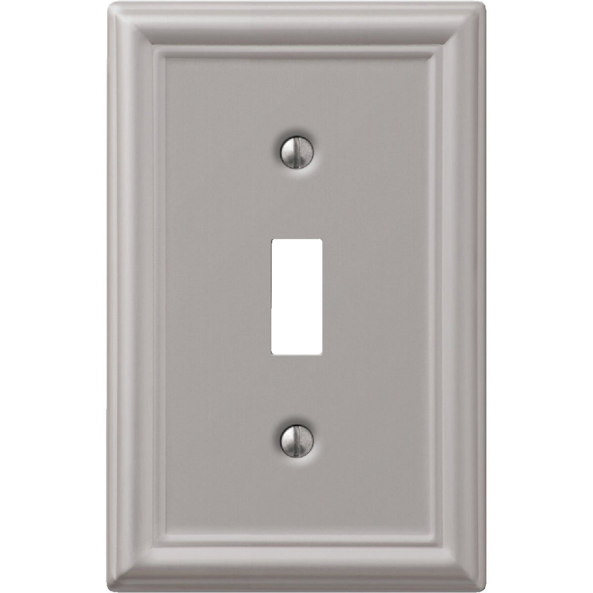 1 TGL BN WALLPLATE - 9LBN101 by Jackson Deerfield Mf