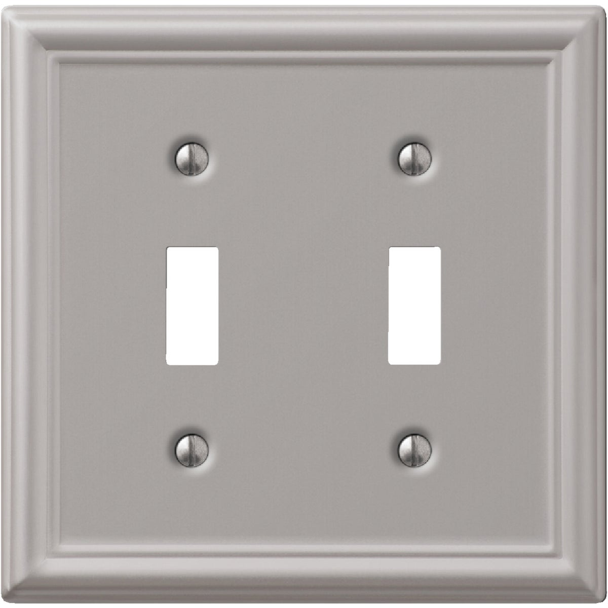 2 TGL BN WALLPLATE - 9LBN102 by Jackson Deerfield Mf