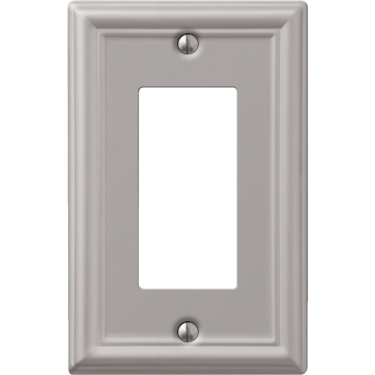 1 RKR BN WALLPLATE - 9LBN117 by Jackson Deerfield Mf