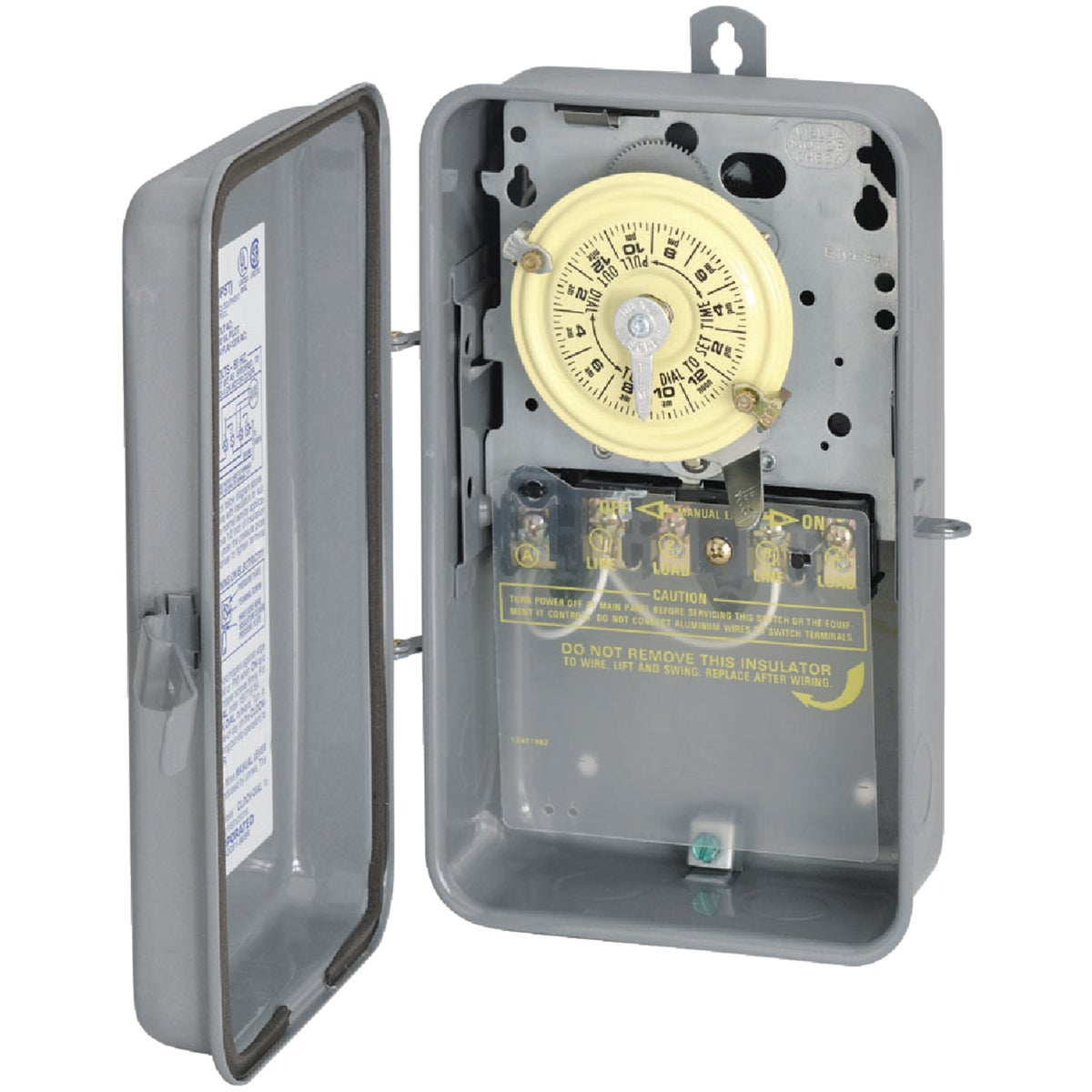 208-277 DPST TIME SWITCH - T104R by Intermatic Inc
