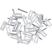 Audiovox Accessories 20PK NAIL-IN CABLE CLIP TP103NV