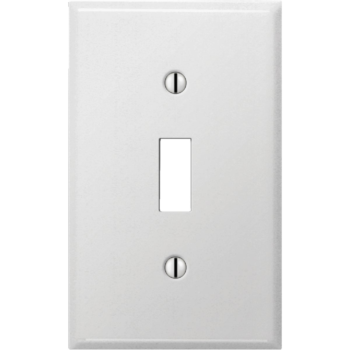 WHT SWITCH WALL PLATE - 8WS101 by Jackson Deerfield Mf