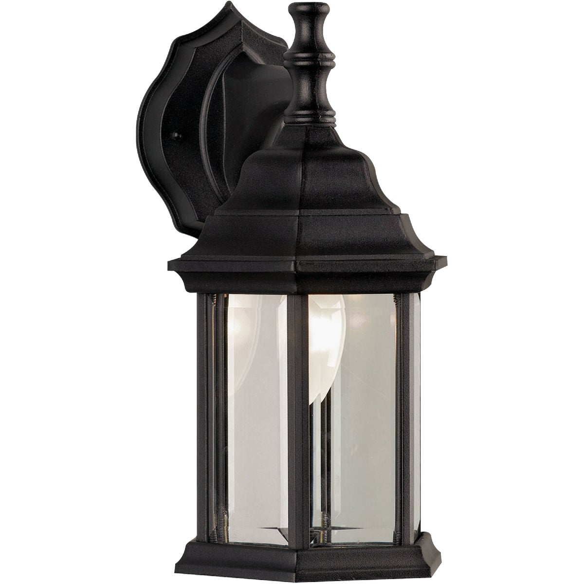 BLACK OUTDOOR FIXTURE