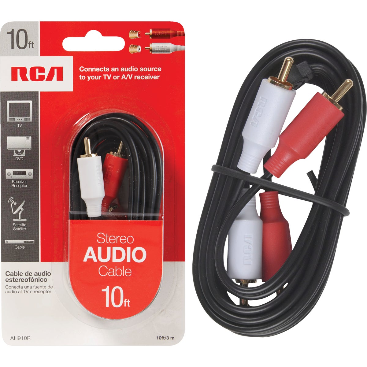 Audiovox Accessories 10' STEREO CABLE AH910NV