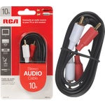 RCA 10' Stereo Audio Cable