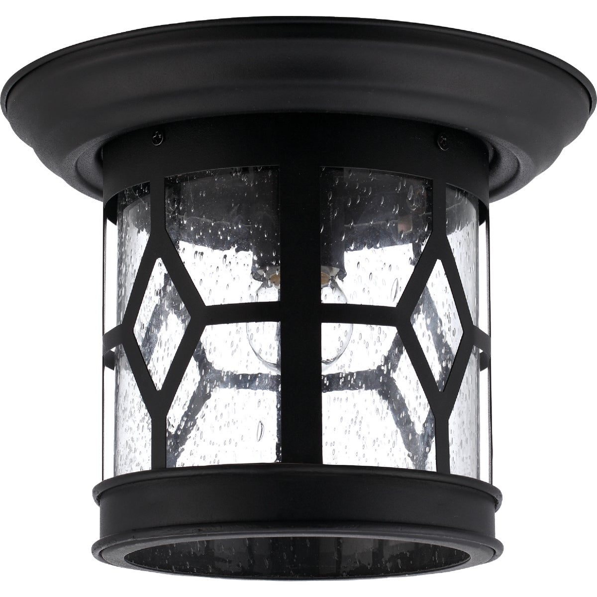 BLACK OUTDOOR LANTERN - IOL207BK by Canarm Gs