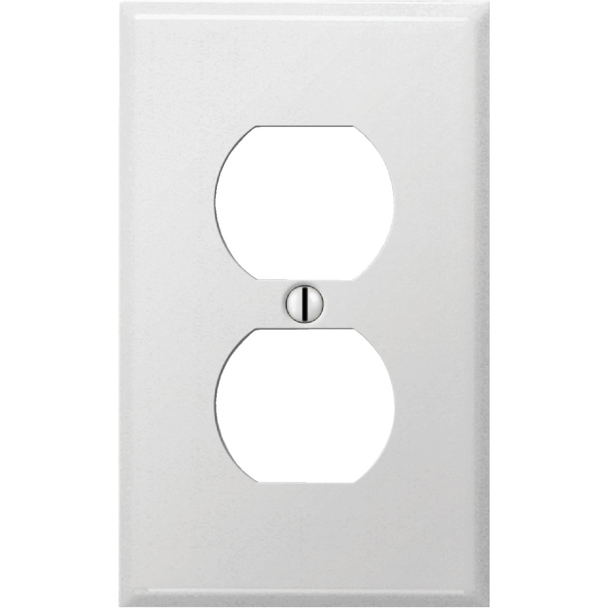 WHT OUTLET WALL PLATE - 8WS108 by Jackson Deerfield Mf