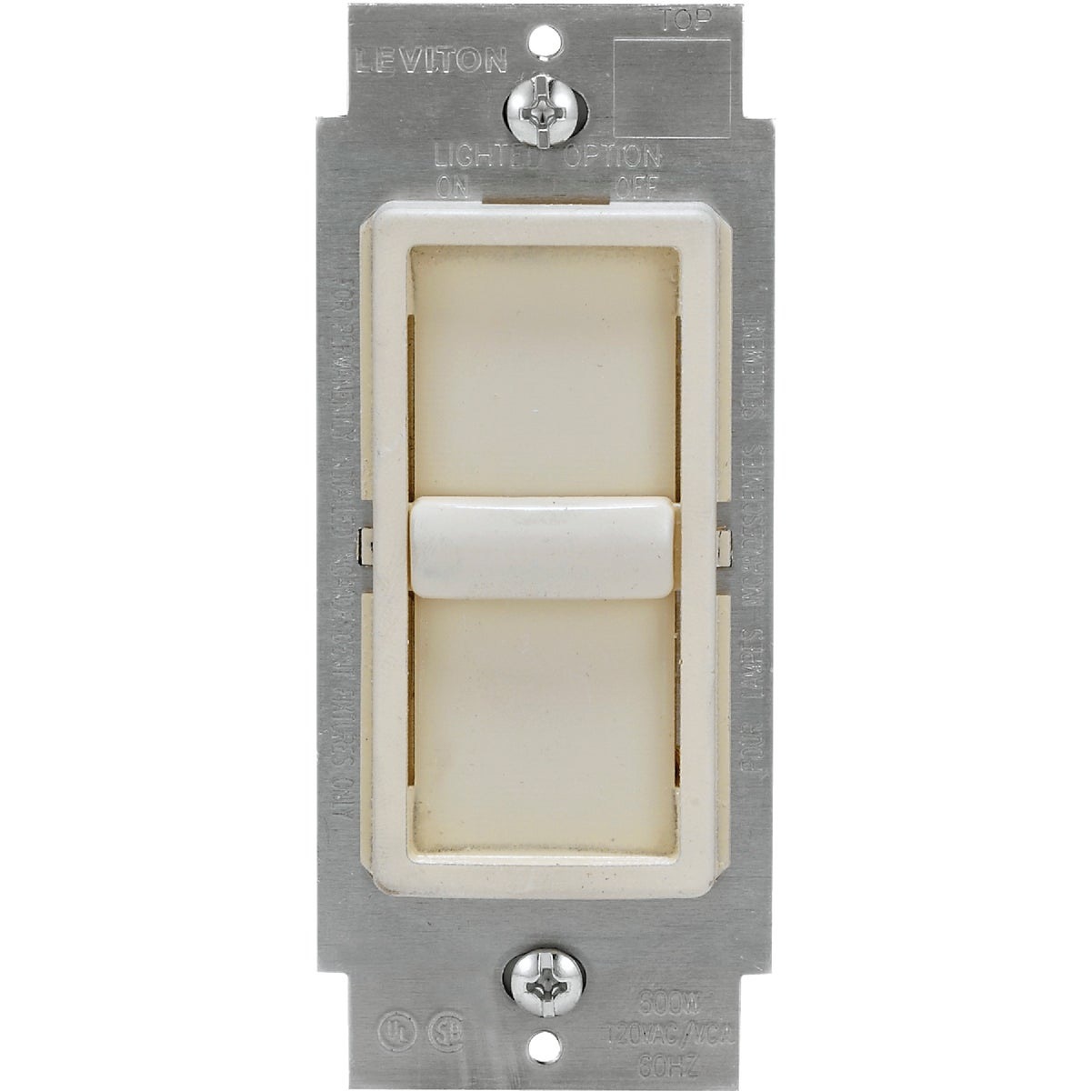 LT ALM UNIVERSAL DIMMER - C28-06672-1LT by Leviton Mfg Co