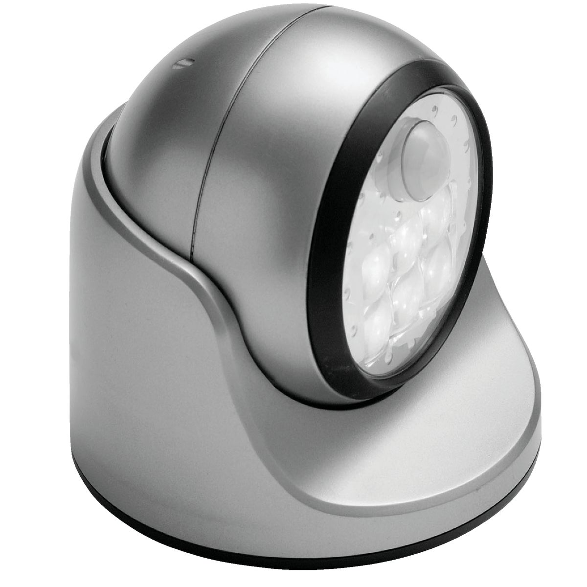 SILVER 6 LED PORCH LIGHT - 20031-101 by Fulcrum Products, Inc