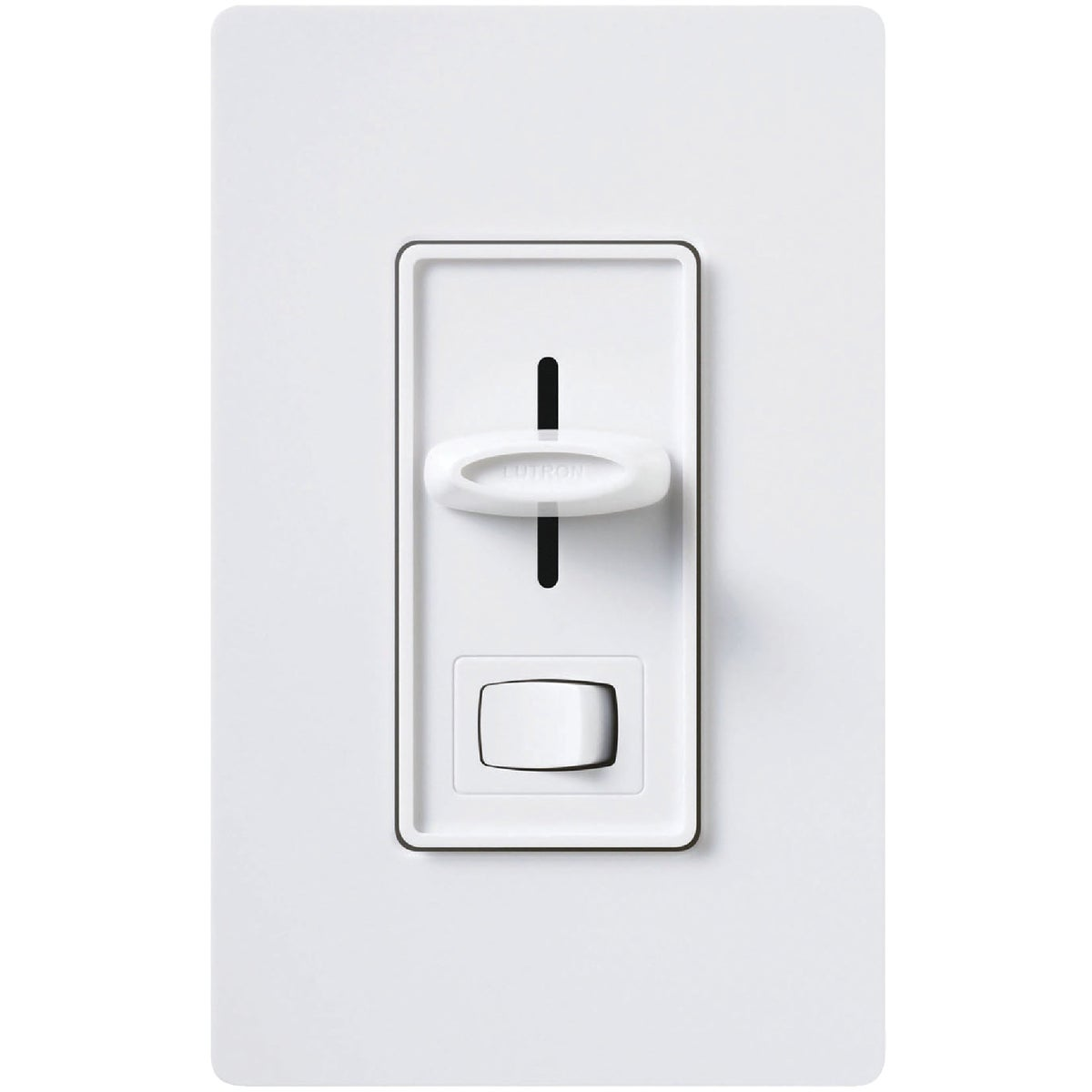 WH CFL/LED DIMMER - SCL-153PH-WH by Lutron Elect Co Inc