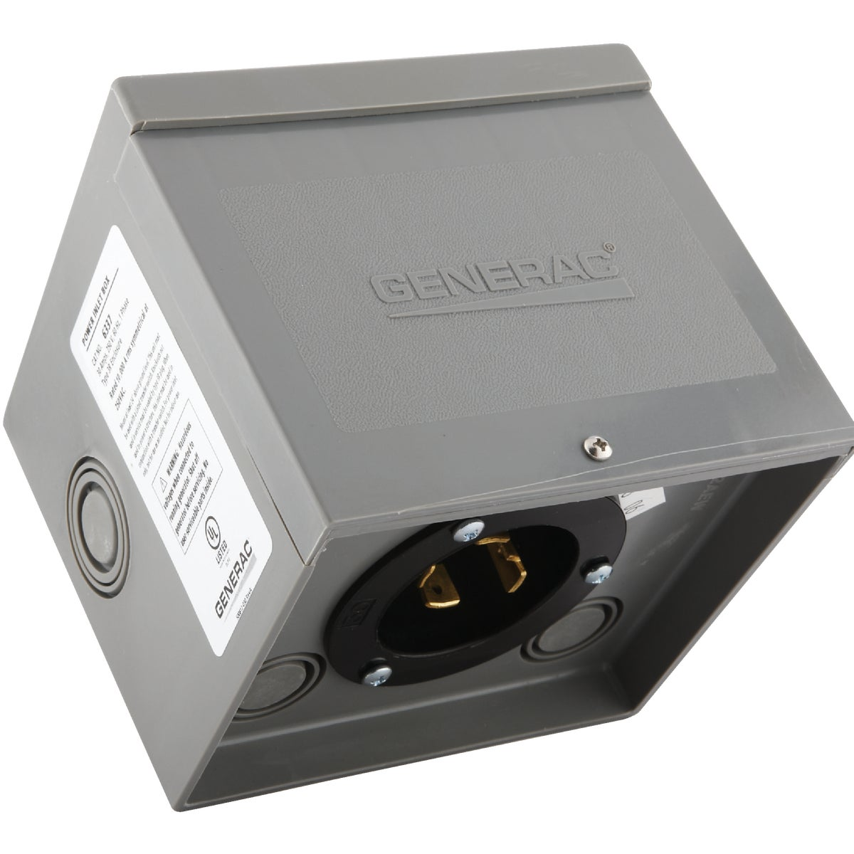 30A NM POWER INLET BOX - 6337 by Generac Power System