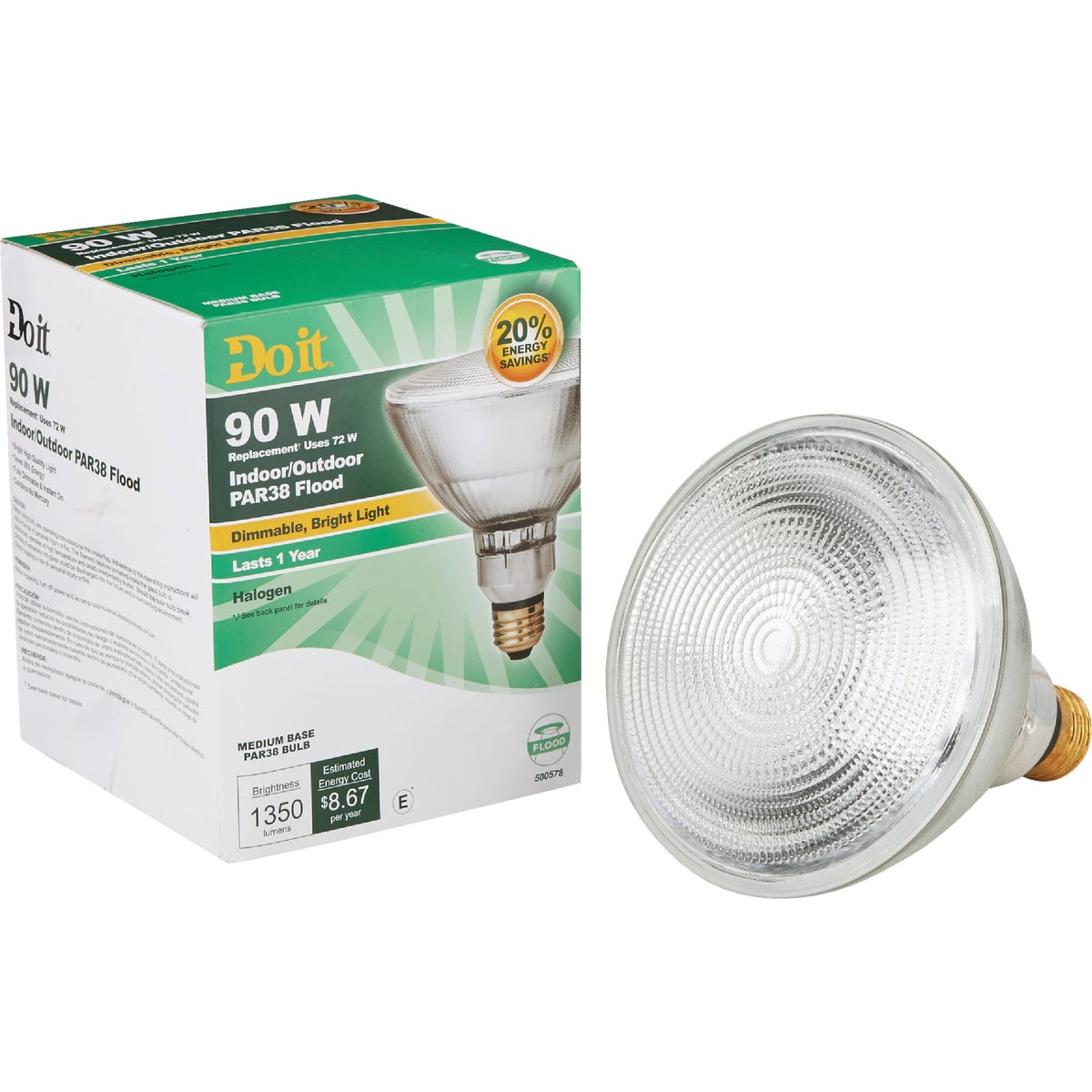 90W PAR38 FLOOD BULB - 90833 by G E Private Label