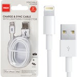 RCA Lightning Cord USB Charging & Sync Cable