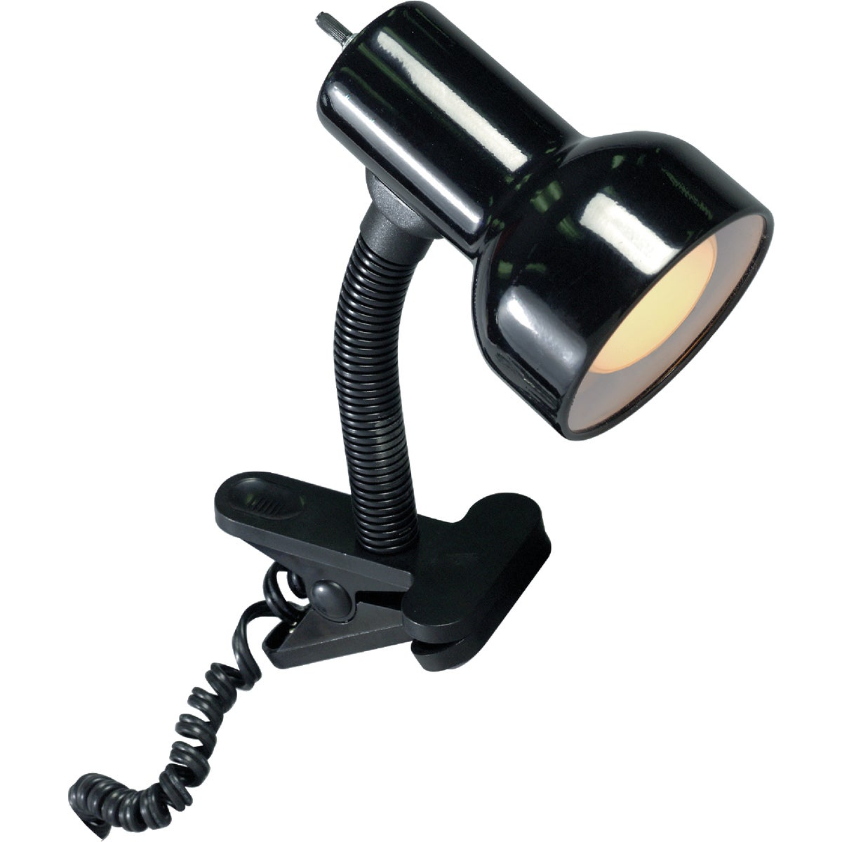 60W BLK GSNK CLP-ON LAMP - LS-111BLK by Lite Source