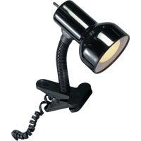 Grandrich Corp. BLK GOSNECK CLIP-ON LAMP CLC-400 BLK