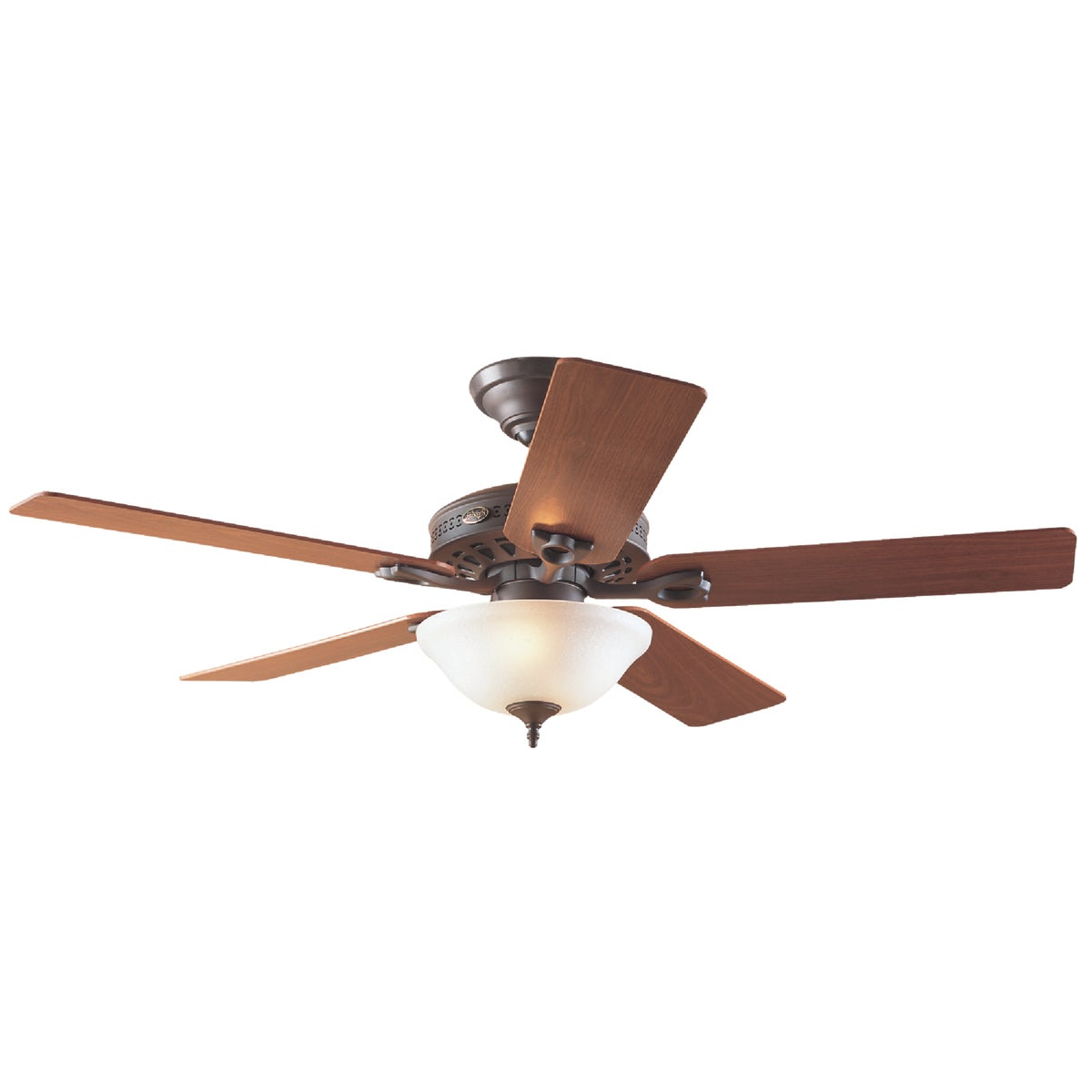 "52"" BRZ CEIL FAN W/LIGHT - 53057 by Hunter Fan Co"