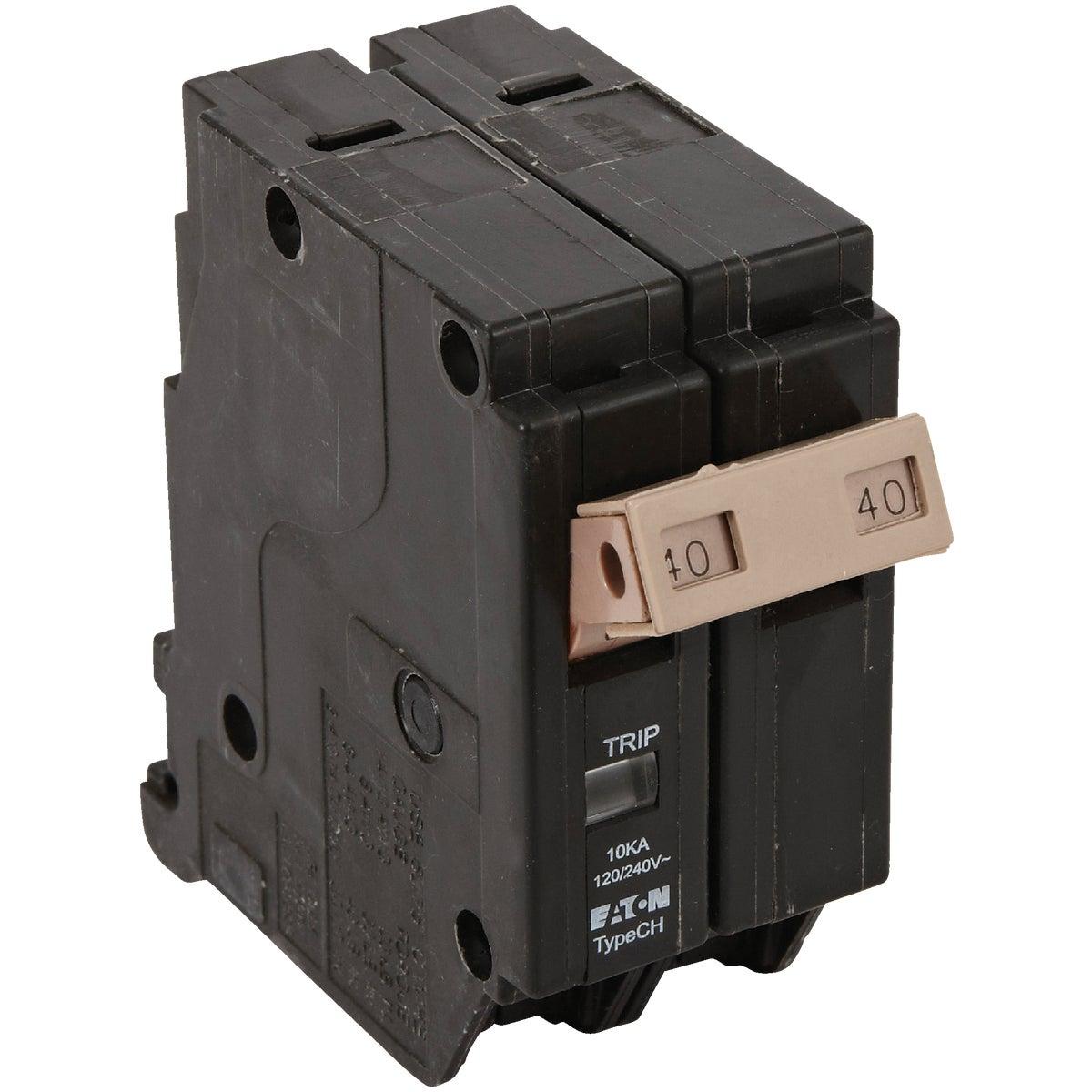 40AMP DP CH BREAKER - CHF240CS by Eaton Corporation