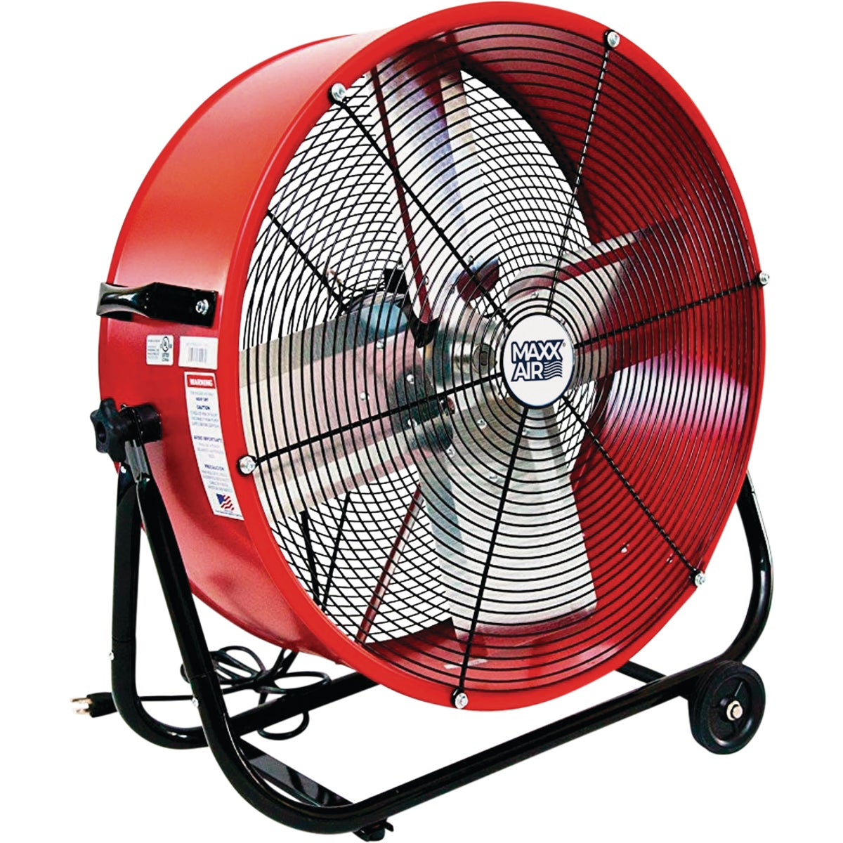 Ventamatic Maxx Air Drum Fan, BF24TF YEL