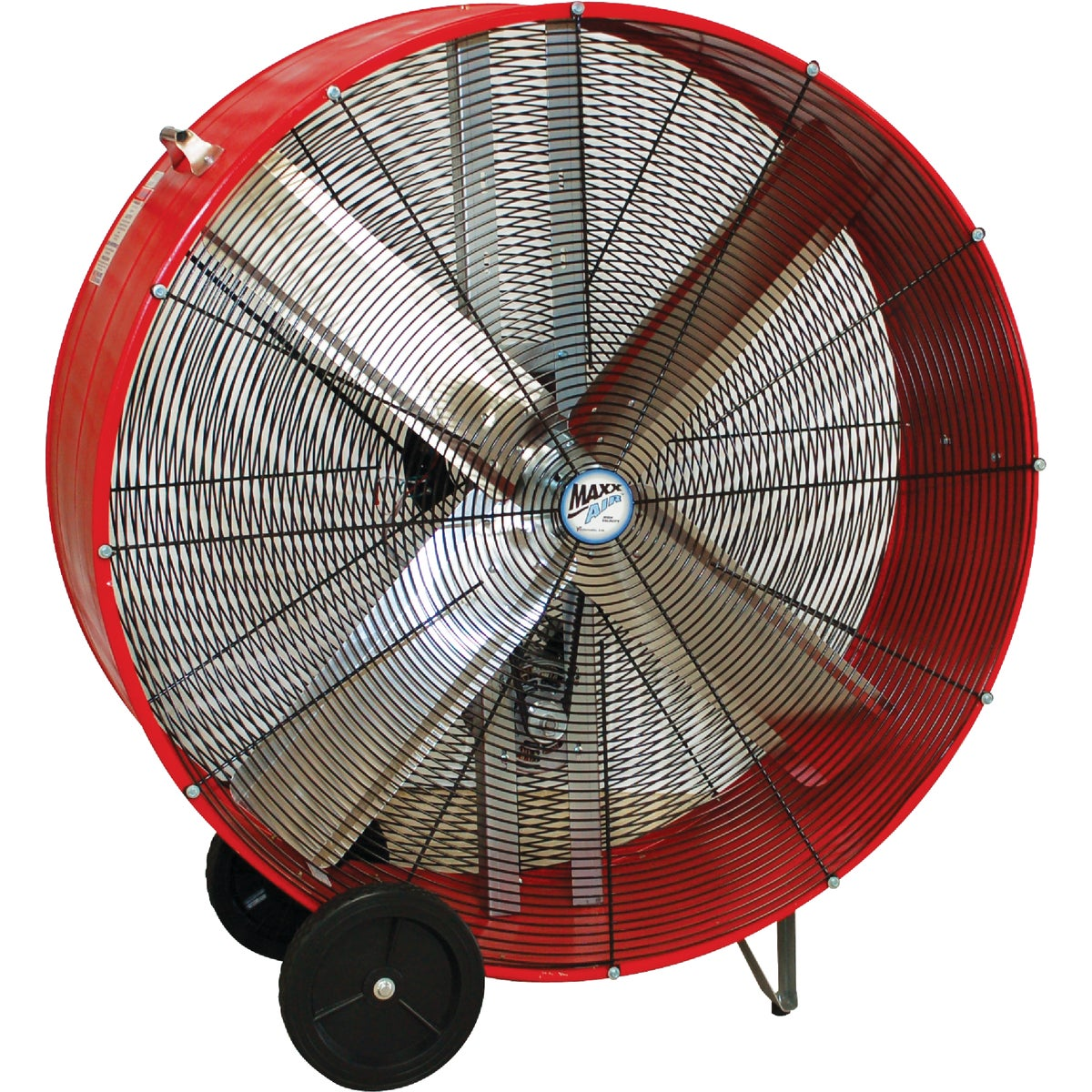 Ventamatic Maxx Air Belt Driven Industrial Drum Fan, BF42BD RED