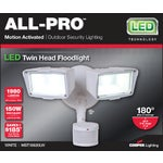 All-Pro 27W LED Motion Floodlight Fixture